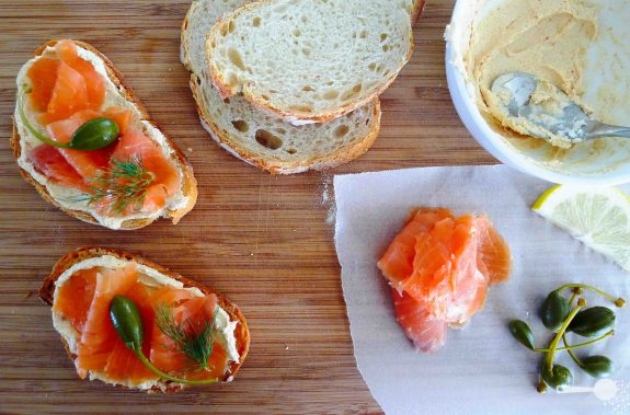 ... smoked salmon goat cheese smoked salmon and goat cheese bruschetta
