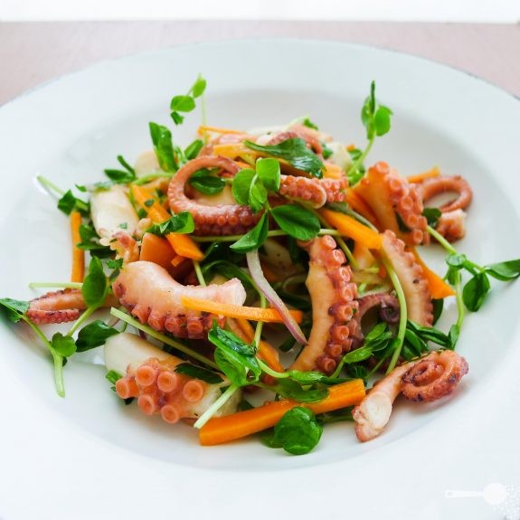 Insalata di polpo [marinated octopus salad] | Wholesome Cook