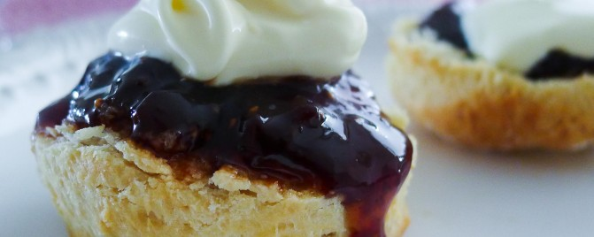 Scones with a very special jam, double cream + a giveaway!