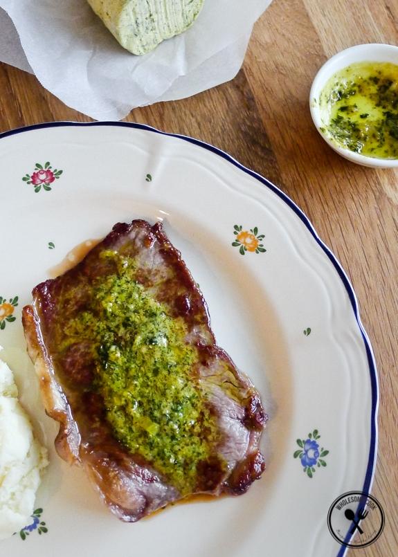 Homemade Cafe de Paris Butter