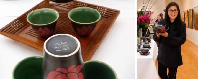 Kylie Kwong launches her Oxfam fair trade dinnerware range