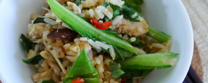 Boxing Day leftovers makeovers: Fried rice with turkey, egg and vegetables