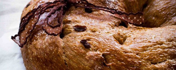 Chocolate and Sour Cherry Bread