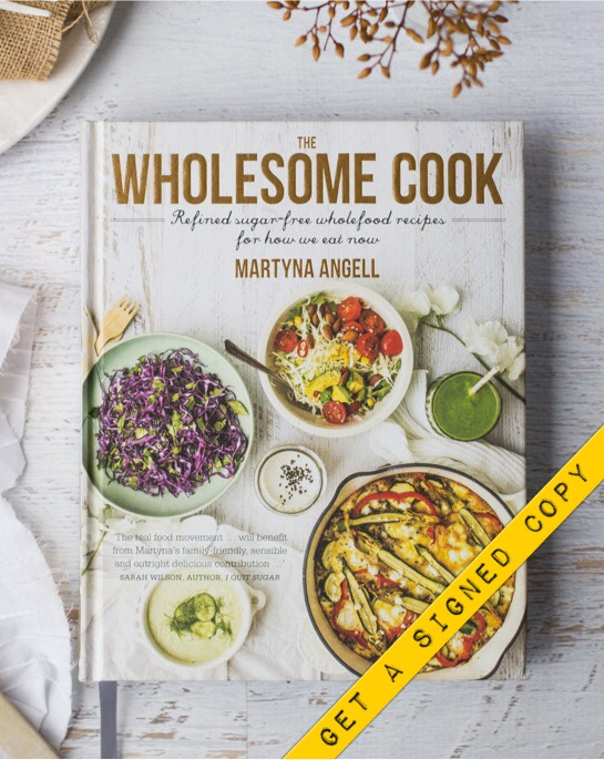 Get a signed copy of The Wholesome Cook Book