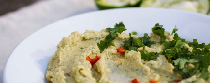 Thai Chilli and Lime Hommus