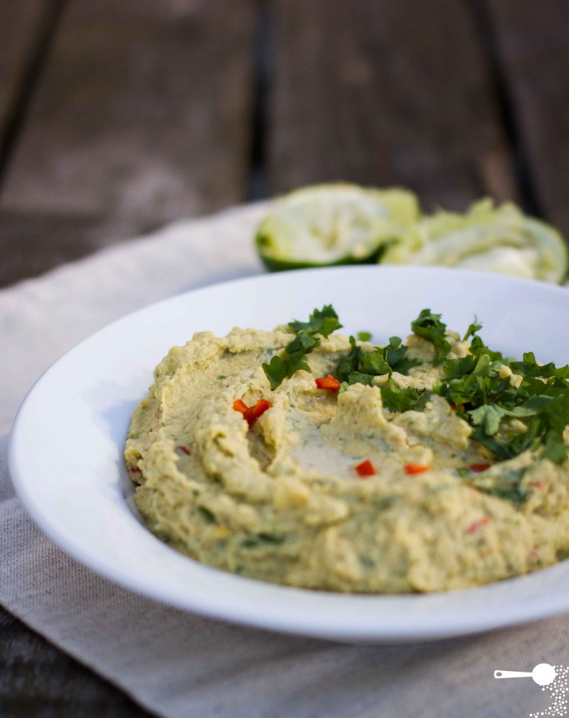 Chilli and Lime Hommus