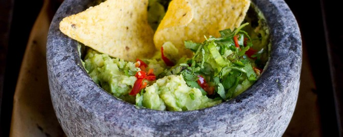 5 Ingredients: Roasted Avocado Guacamole