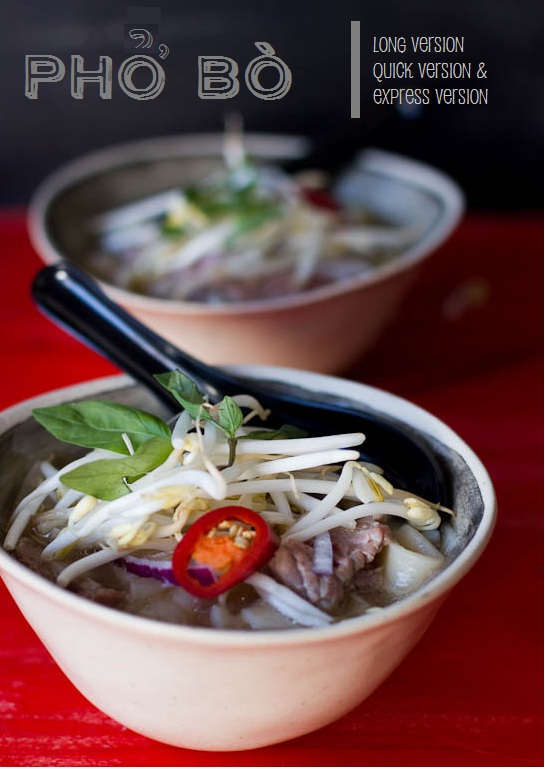 Pho (Vietnamese Beef Soup) | Long Quick and Express Versions ...