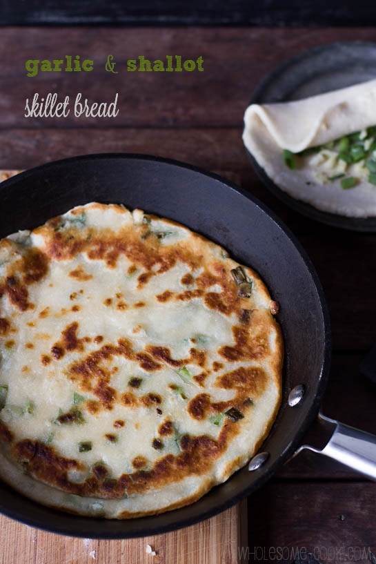 5 Ingredient Skillet Bread