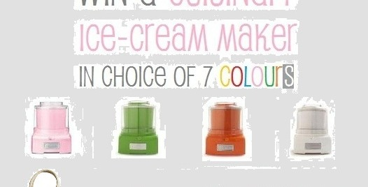 WIN a Cuisinart Ice Cream Maker + a Brookfarm Delights Hamper (CLOSED)