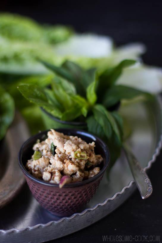 Larb Gai Salad
