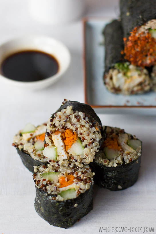 Quinoa Sushi Rolls best  quinoa recipes