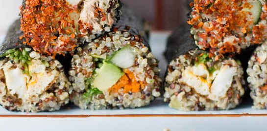 Quinoa Sushi Rolls plus 5 Other Cool Quinoa Recipes