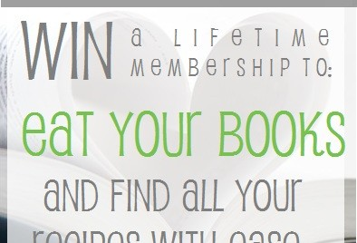 Giveaway: Eat Your Books Lifetime Membership and My New Cookbook News (CLOSED)