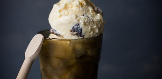 5 Ingredients: Rum and Raisin Ice-Cream