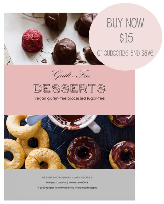 Guilt Free Desserts Buy Now or Subscribe and Save.