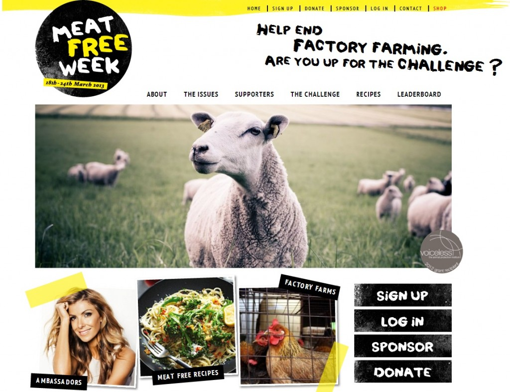 Meat Free Week Campaign