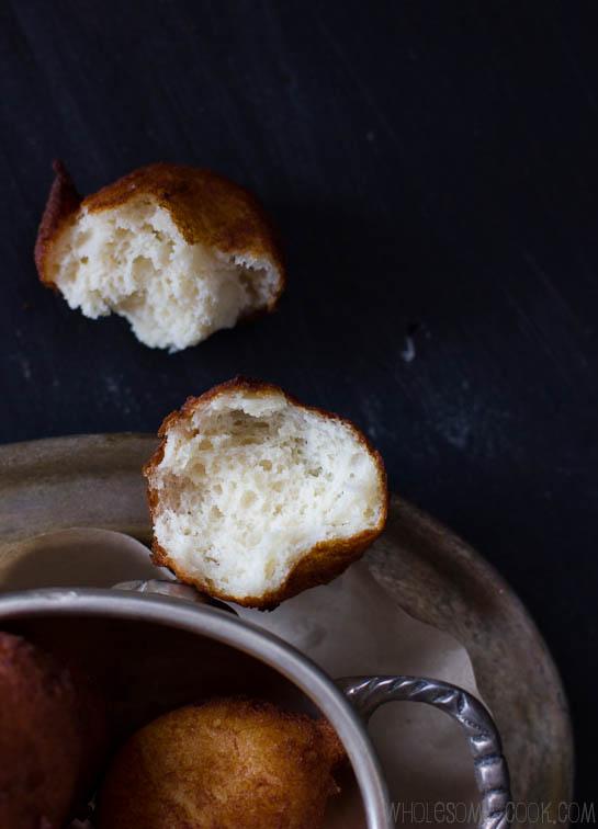 Quark Donuts gluten-free sugar-free