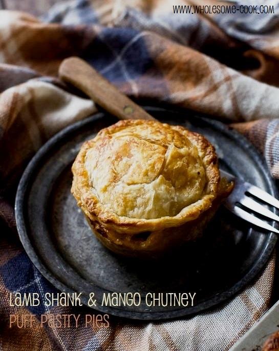 Lamb Shank and Mango Chutney Pies PLUS 10 Other Savoury Pie Filling ...