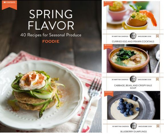 Foodie Flavors of Spring eBook