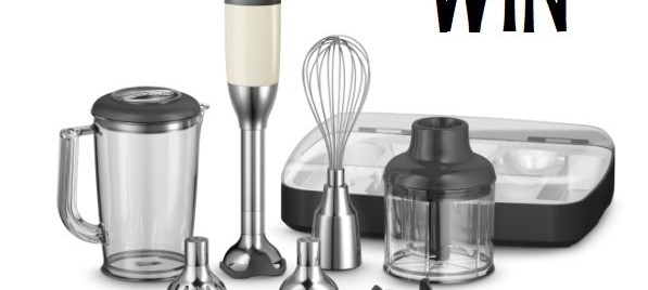 WIN a KitchenAid Artisan Deluxe Hand Blender valued at $249 (CLOSED)
