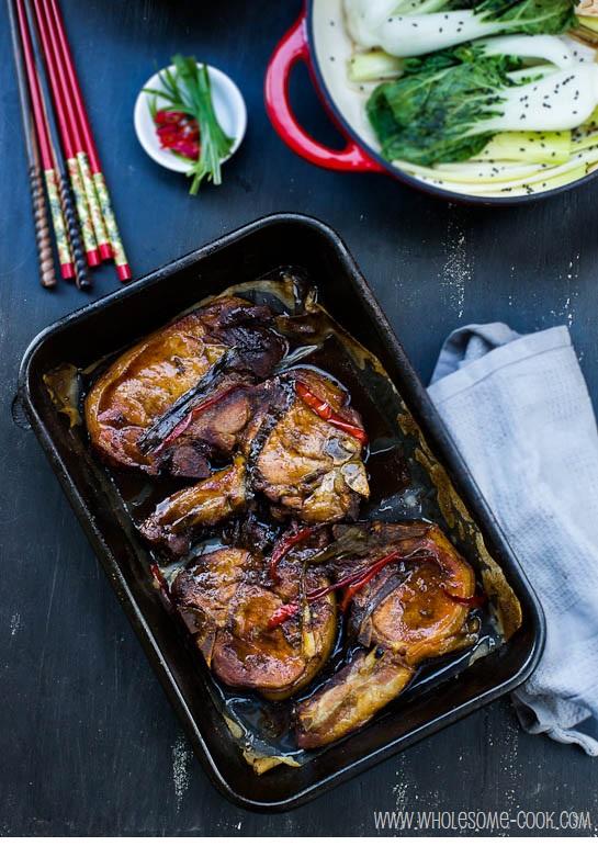 Caramelised Pork Chops