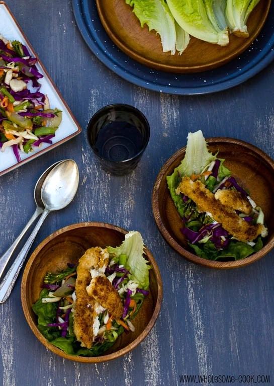 Fish Tacos with a Fridge Surprise Slaw