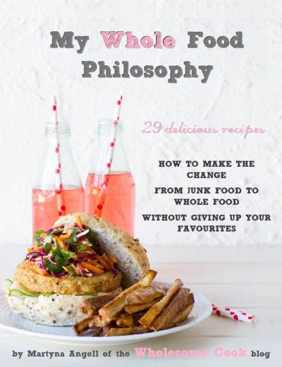 My Whole Food Philosophy_WholesomeCook_Ebook Cover_Angell