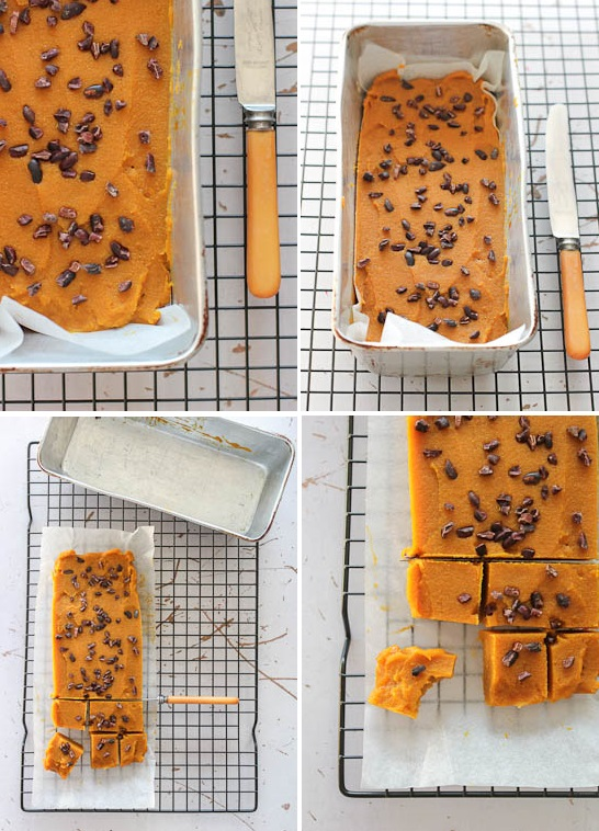 Healthy Caramel and Pumpkin Spice Fudge-6