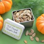 Dill Pumpkin Seeds   Homemade For Friends