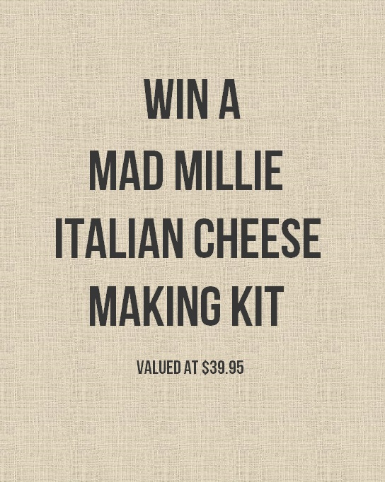Win a Mad Millie Italian Cheese Making Kit