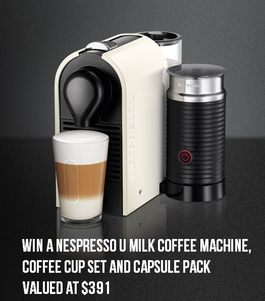 Win a Nespresso UMilk Coffee Machine Pack