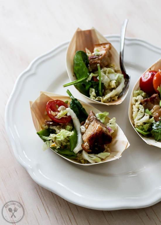 Caramelised Pork Belly Salad