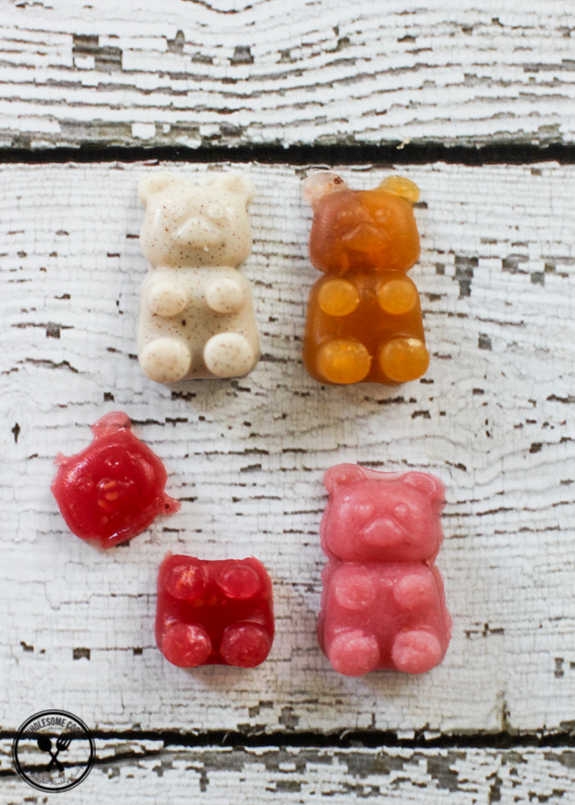 Homemade Healthy Gummy Bears No Added Sugar-