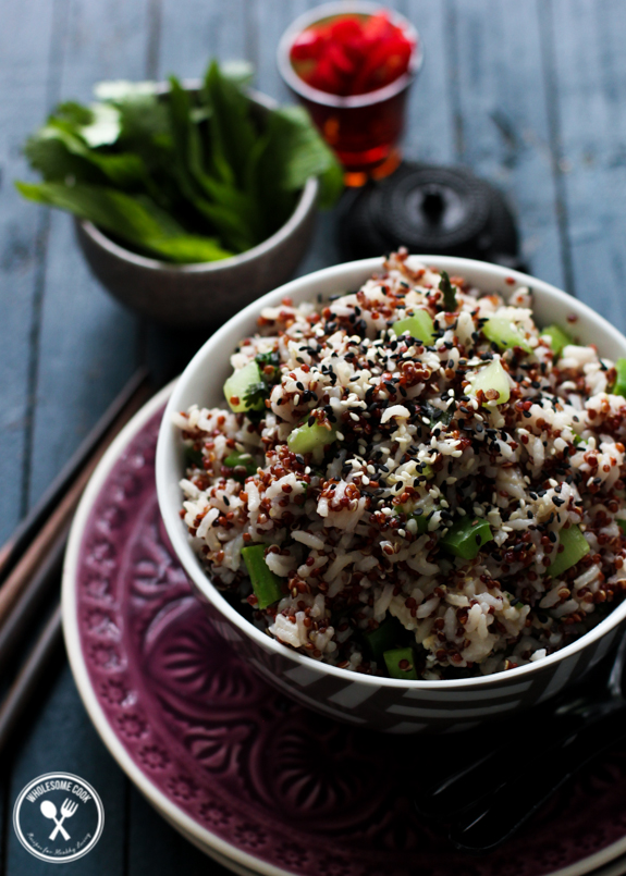Vegetarian Quinoa Fried Rice
