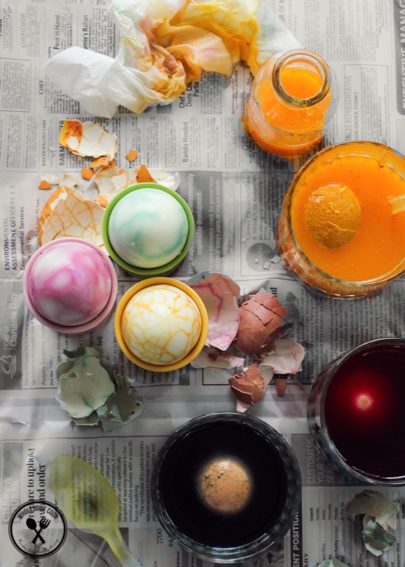 Natural Dyed Eggs_-