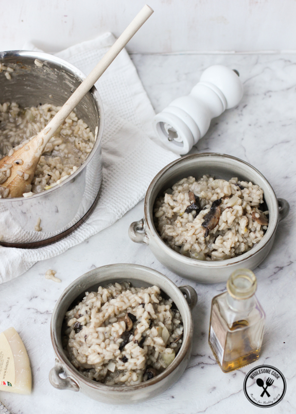 the Perfect Risotto PLUS My Fennel, Mushroom and Truffle Oil Risotto ...