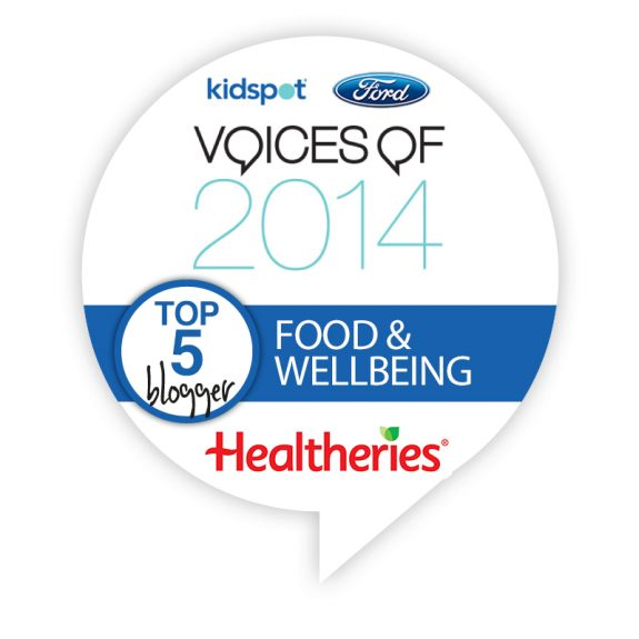 Voices of 2014 Top 5 Food and Wellbeing Blogger