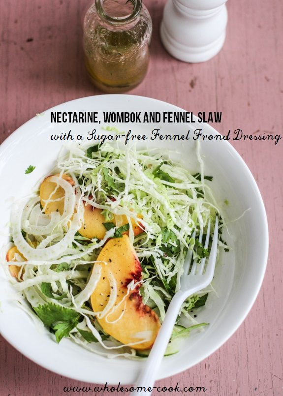 Nectarine, Fennel and Wombok Slaw