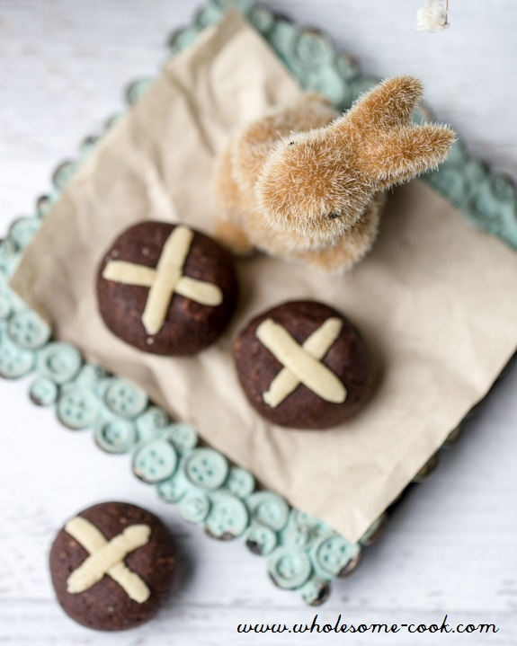 Sugar-free Easter Hot Cross Bun Truffles