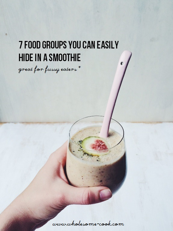 7 Foods You Can Easily Hide in a Smoothie