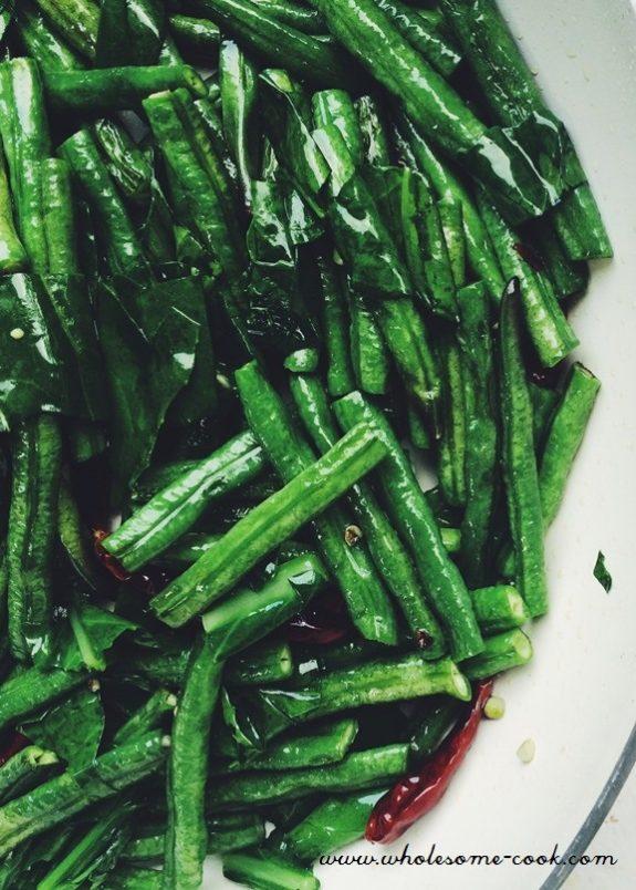 Vegetarian Minced Pork and Beans Vegan Recipe