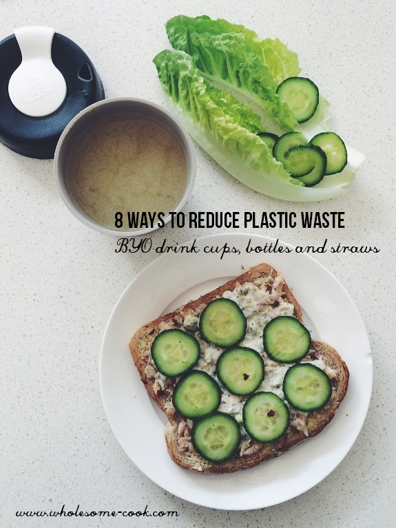 8 Ways to Reduce Plastic Waste at Home and While You Shop Plastic Free July (3)