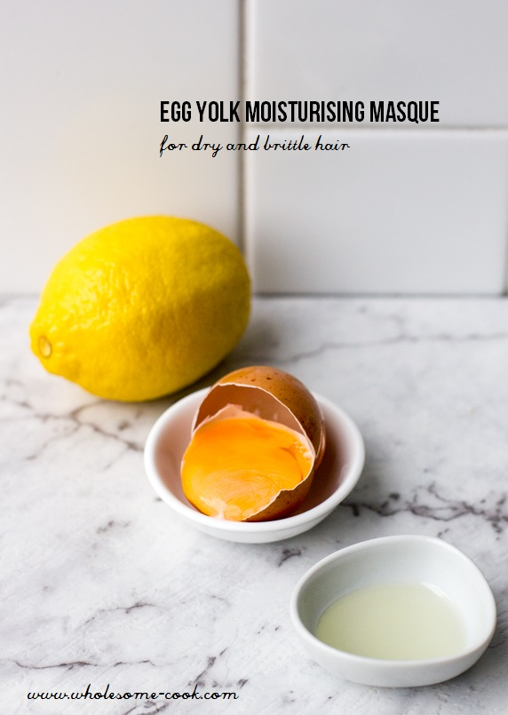 Egg Yolk Moisturising Masque for Dry and Brittle Hair
