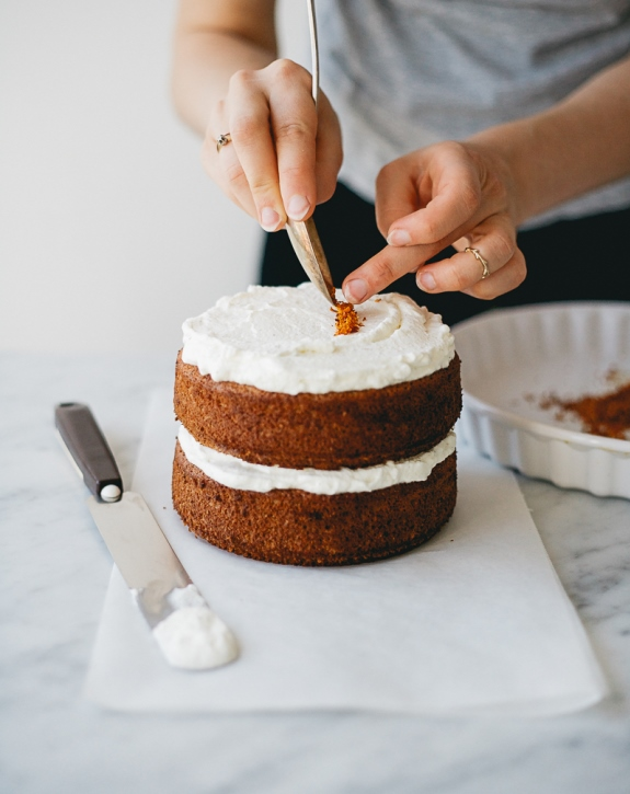 Renee Kemps Spelt Vanilla and Blood Orange Cake