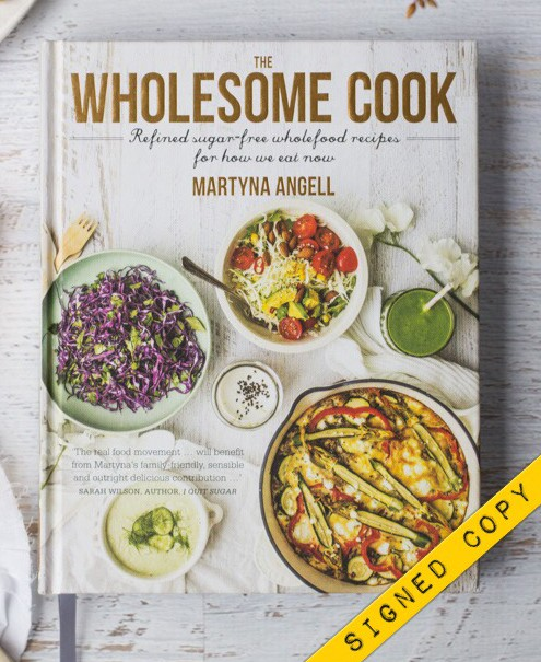 The Wholesome Cook Book Signed Copy