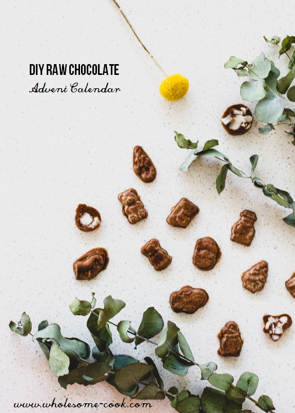 DIY Raw Chocolate Advent Calendar