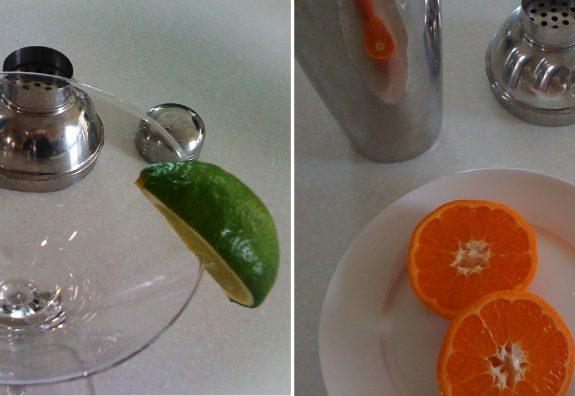 Mandarin 'Sherbet' Martini