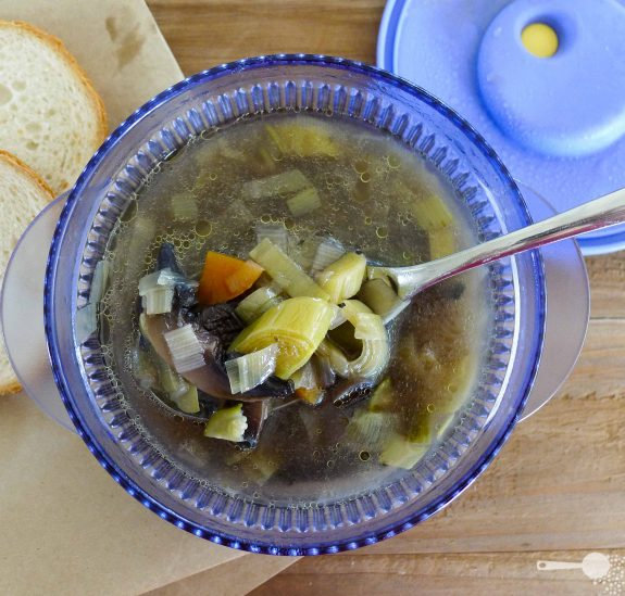French women don't get fat magical leek soup recipe