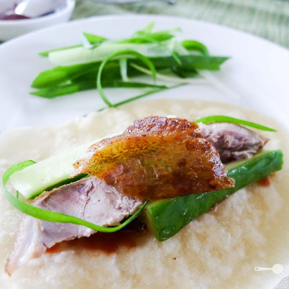 Homemade Peking Duck with Mandarin Pancakes